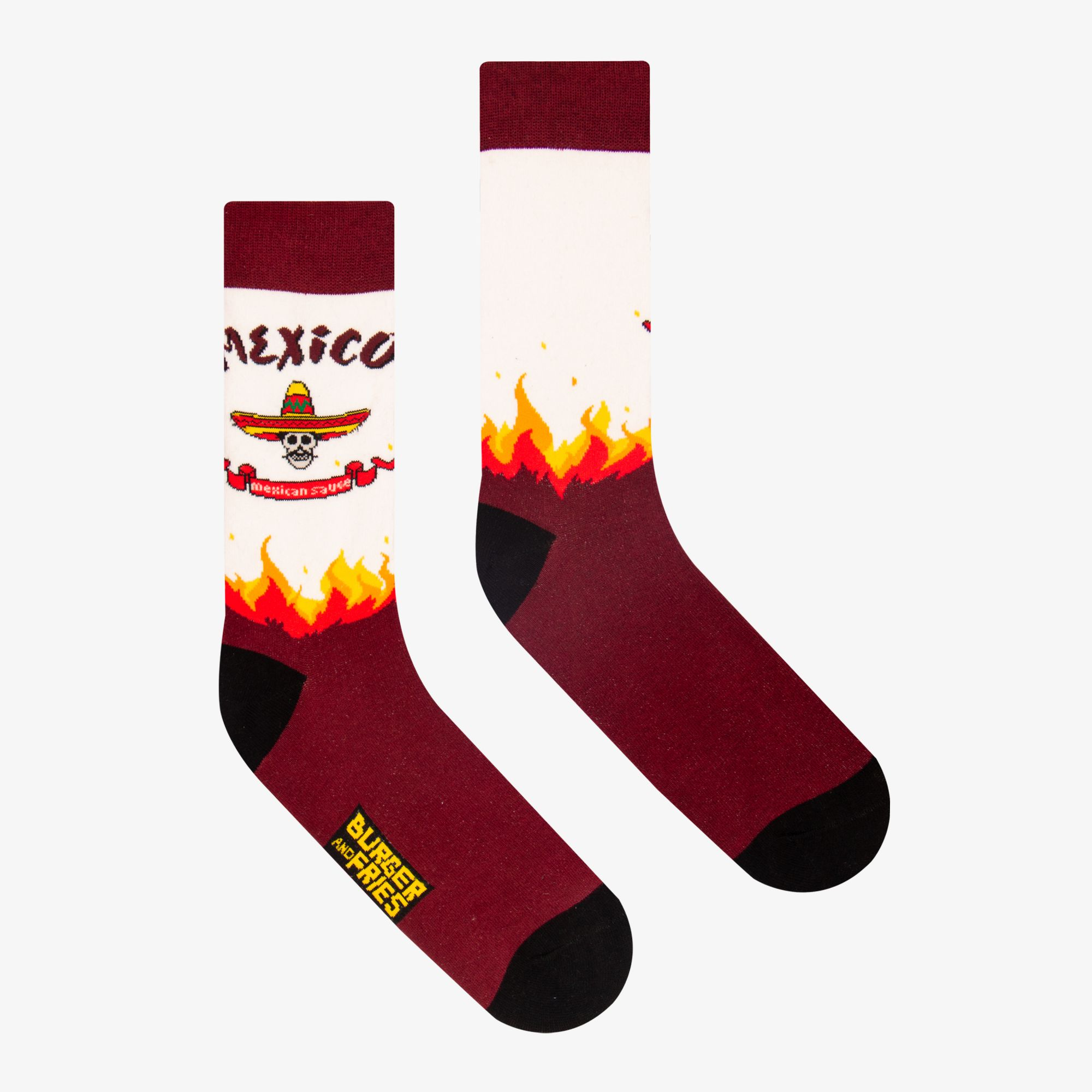 COUNTRY SOCKS MEXICAN SAUCE