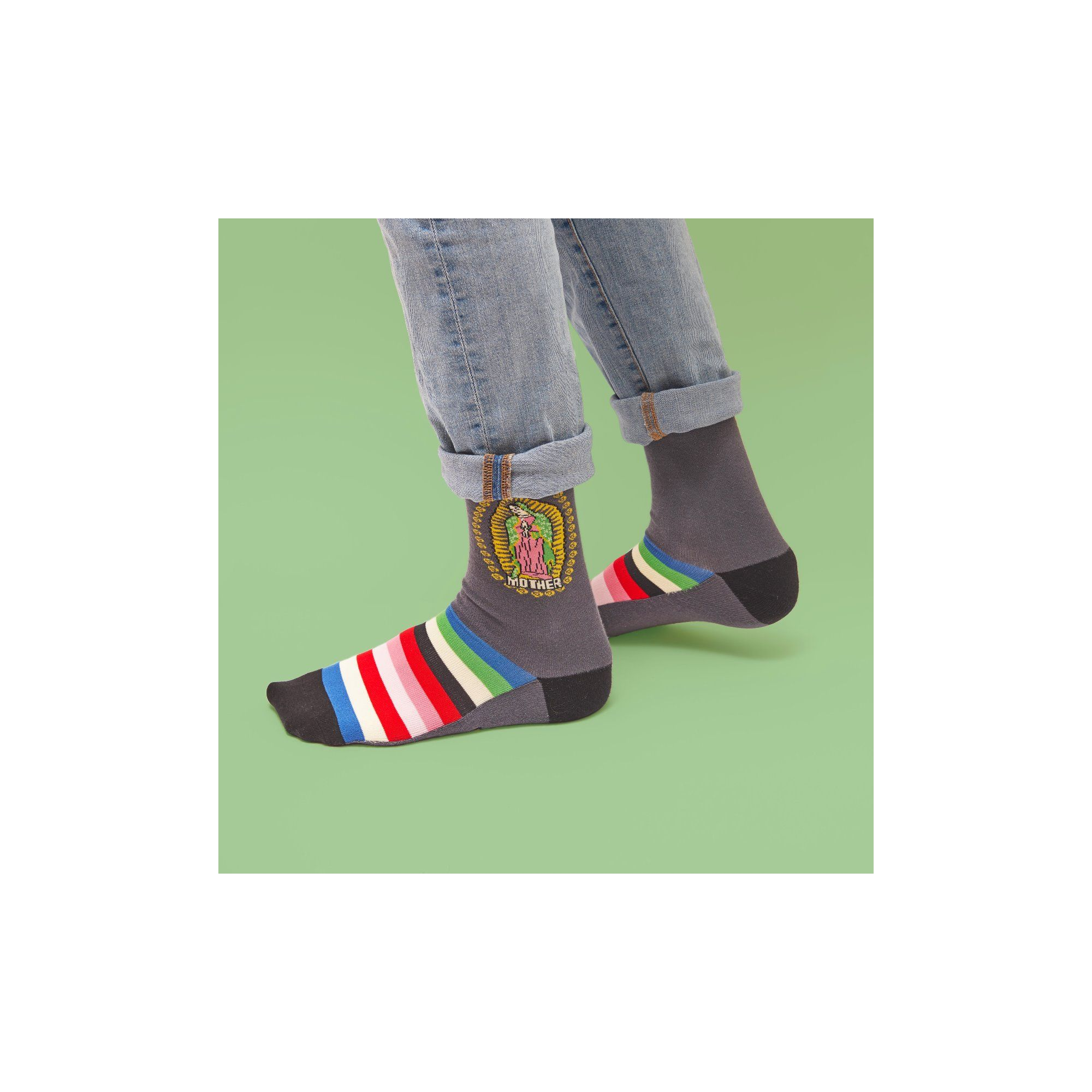COUNTRY SOCKS MOTHER MARY