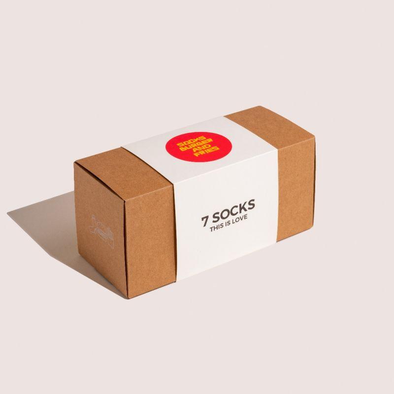 SOCKS BOX 7 AVANA