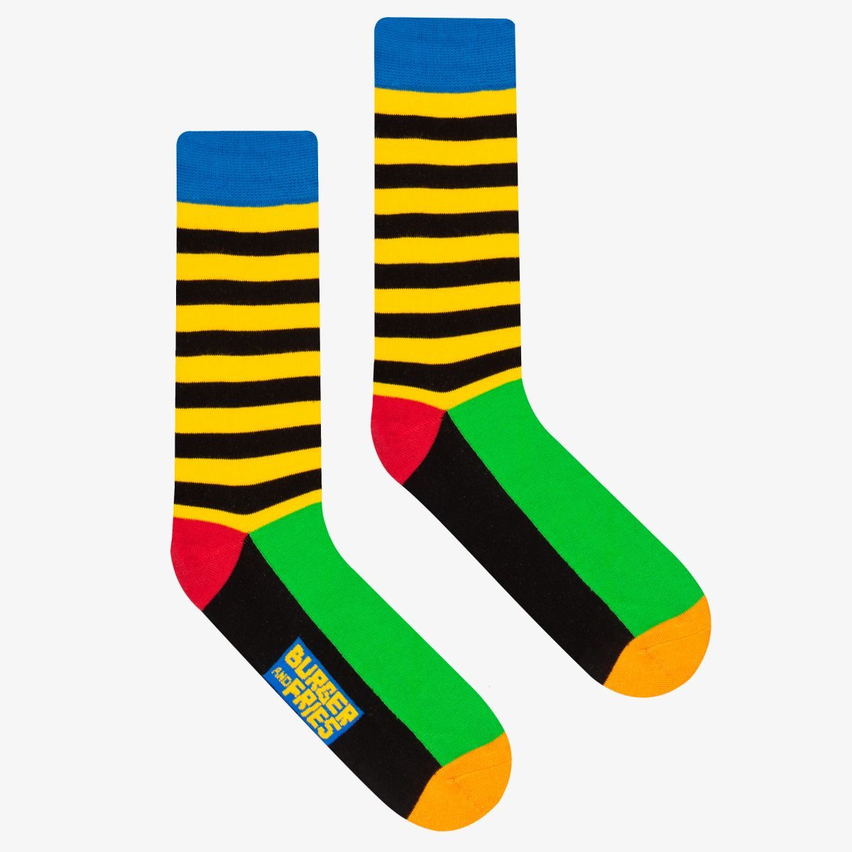 STRIPES SOCKS YELLOW/BLACK