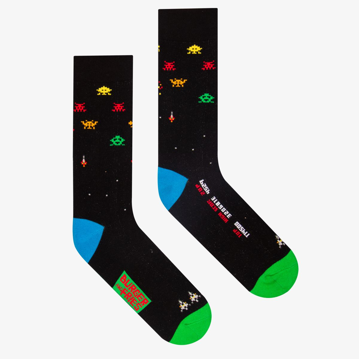 GAMES SOCKS SPACE WAR