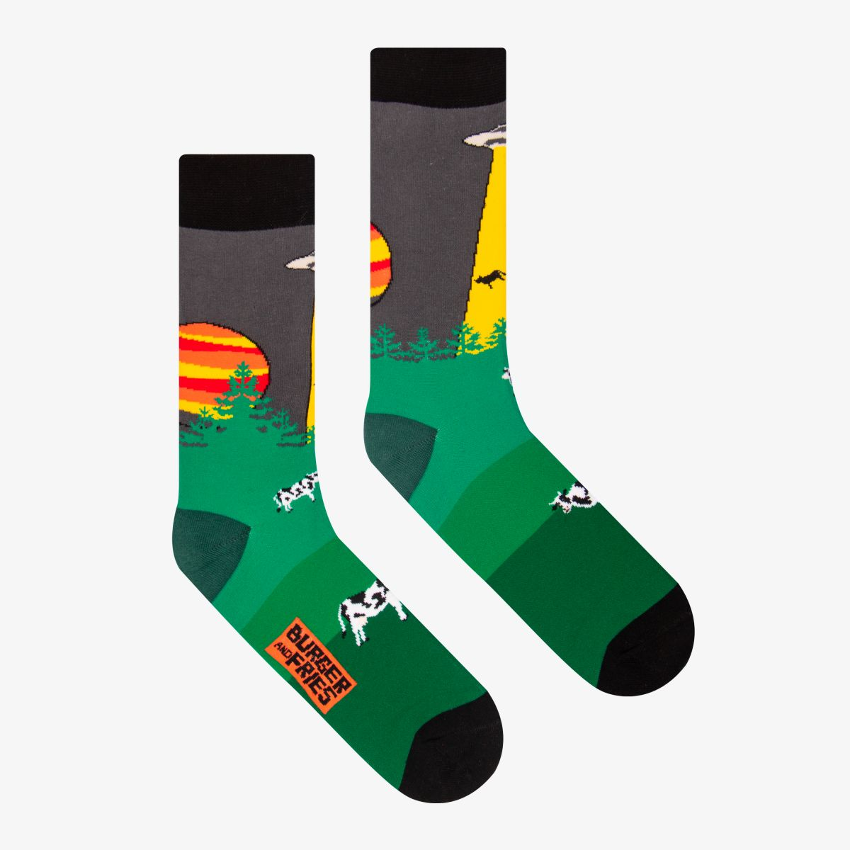 SPACE SOCKS BELIEVE OR NOT BELIEVE