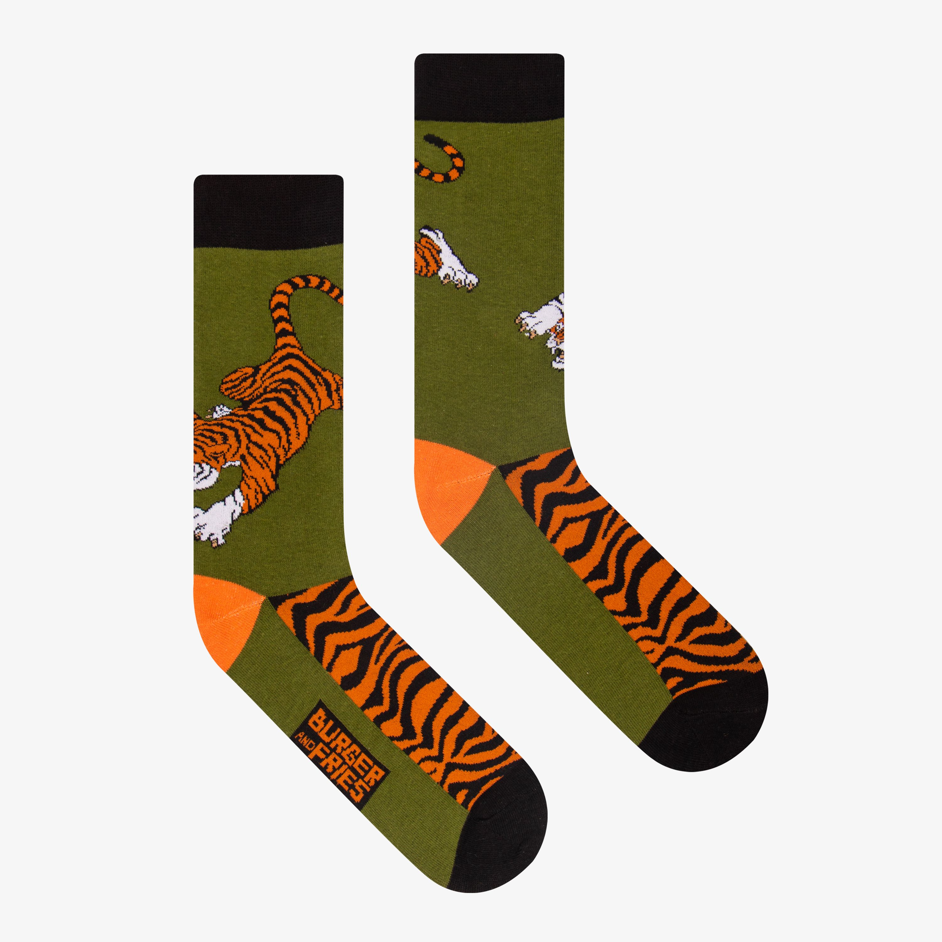 BIG ANIMAL SOCKS EYES OF THE TIGER