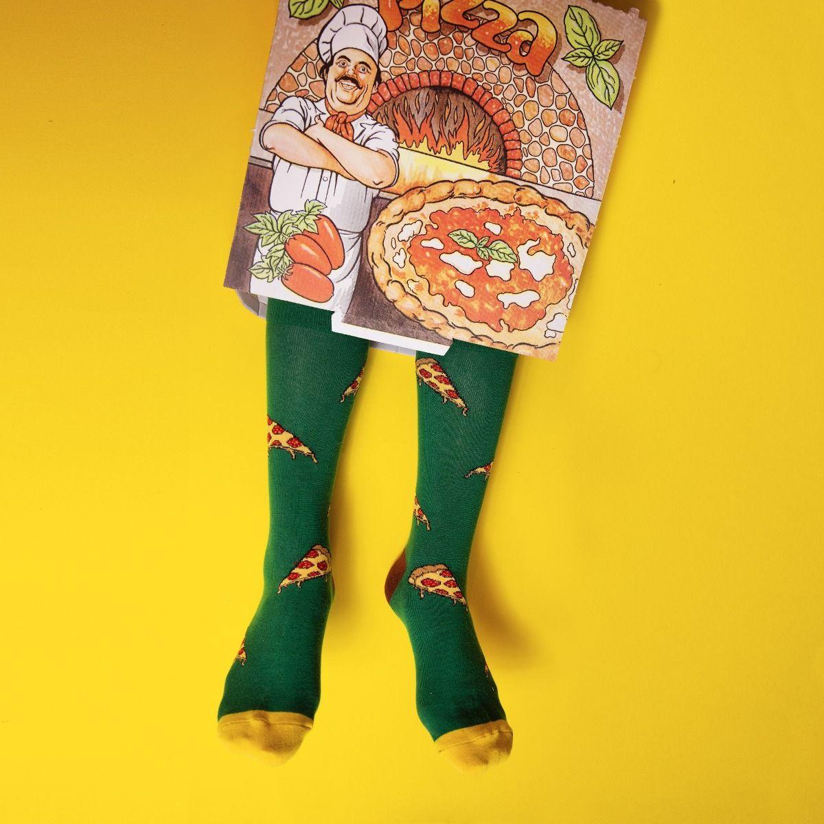 FOOD SOCKS SLICE MY PIZZA