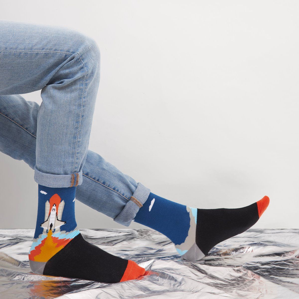 SPACE SOCKS CAPE CANAVERAL